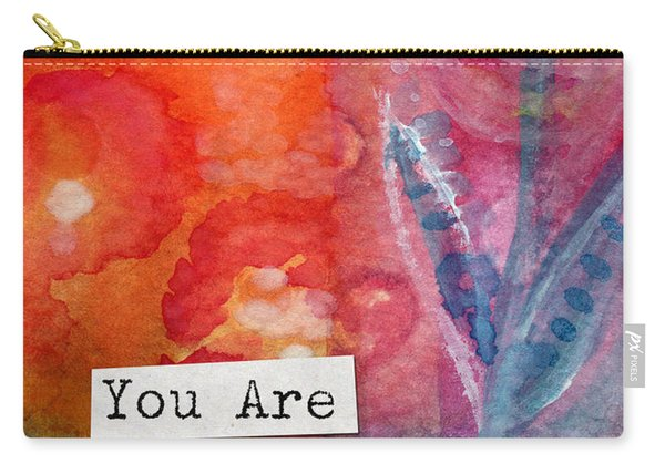 You Are In My Prayers- Watercolor Art Card Carry-all Pouch