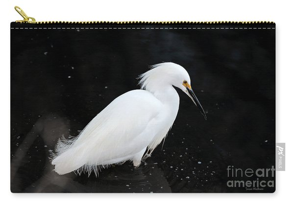 Young Snowy Egret Carry-all Pouch