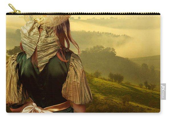 Carry-all Pouch featuring the photograph Young Traveller by Jaroslaw Blaminsky