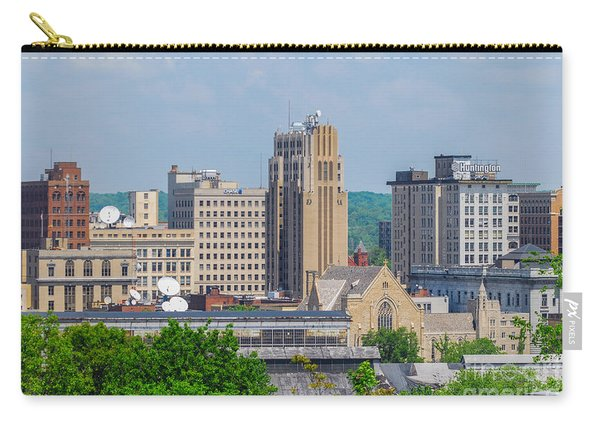 D39u-2 Youngstown Ohio Skyline Photo Carry-all Pouch