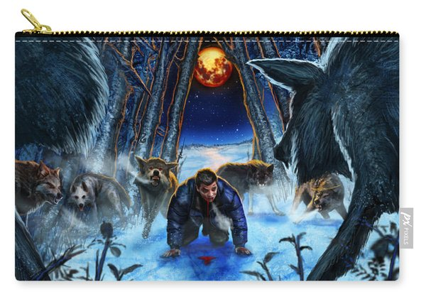 Your Fears Will Consume You Carry-all Pouch