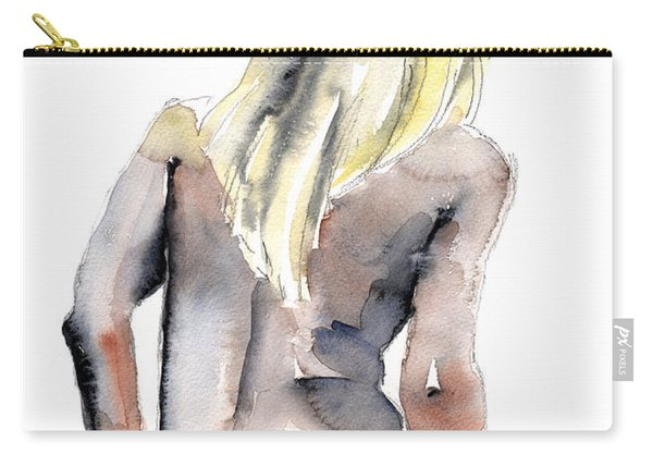 Yours Alone - By Lesley Silver Carry-all Pouch