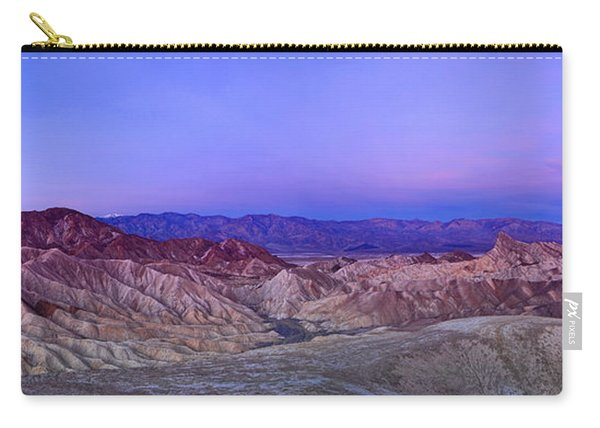 Zabriskie Sunrise Panorama - Death Valley National Park. Carry-all Pouch