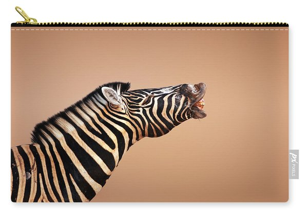 Zebra Calling Carry-all Pouch