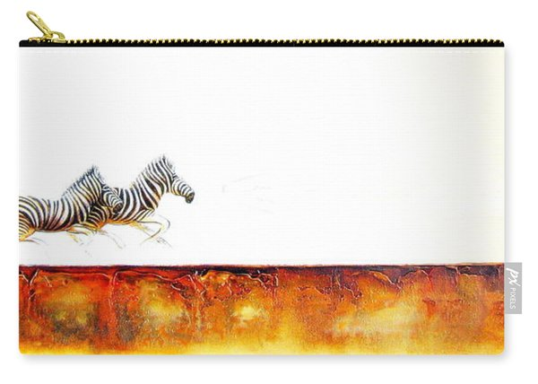 Zebra Crossing - Original Artwork Carry-all Pouch