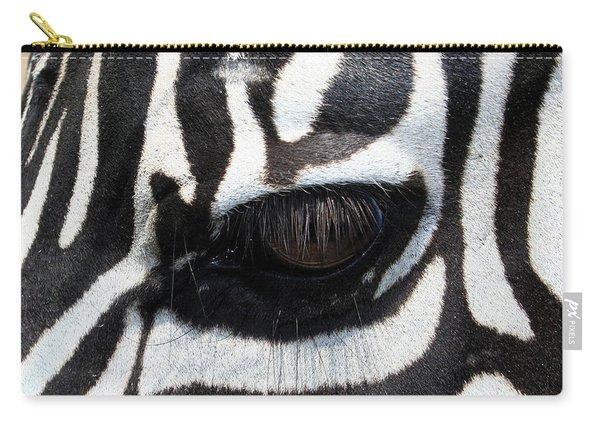 Zebra Eye Carry-all Pouch