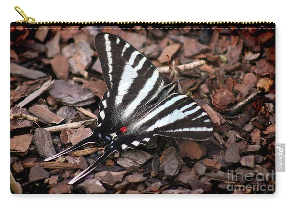 Zebra Swallowtail Butterfly Carry-all Pouch