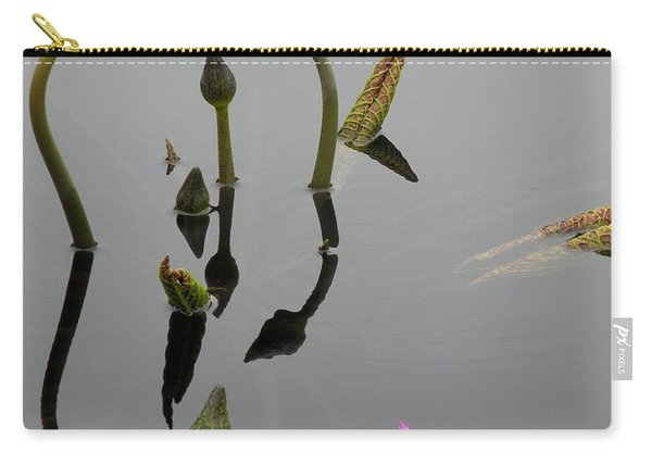 Zen Lilies Carry-all Pouch