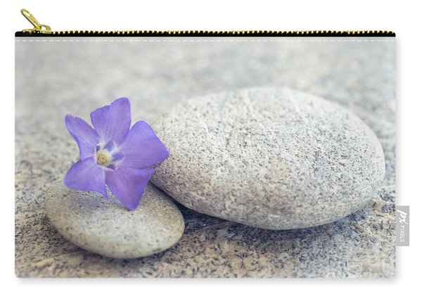 Zen Periwinkle Carry-all Pouch