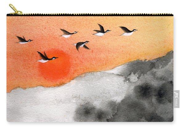 Zen Sunset Carry-all Pouch