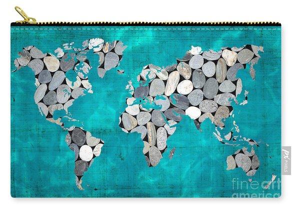 Zen World Map Carry-all Pouch