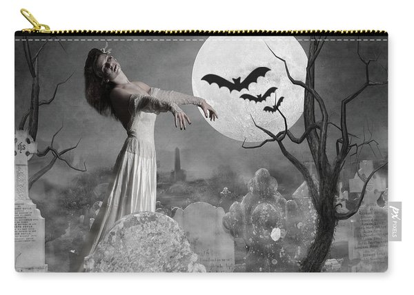Zombie Bride Carry-all Pouch