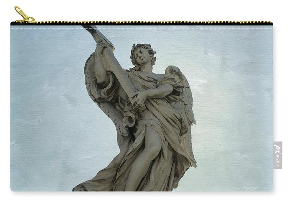 Angel With Cross. Ponte Sant'angelo. Rome Carry-all Pouch