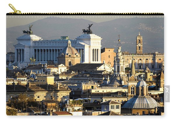 Rome's Rooftops Carry-all Pouch
