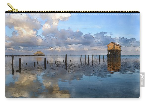 Ambergris Caye Belize Carry-all Pouch