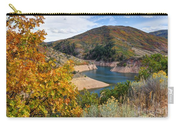 Autumn At Causey Reservoir - Utah Carry-all Pouch