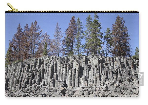 Basalt Columns Formed By Cooling Lava Carry-all Pouch