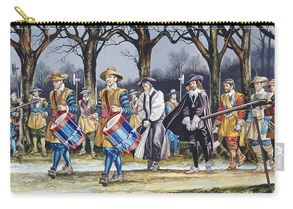 Charles I's Last Walk Carry-all Pouch