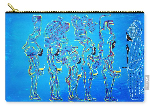 Dinka Wise Virgins  Carry-all Pouch