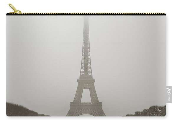 Foggy Morning In Paris Carry-all Pouch