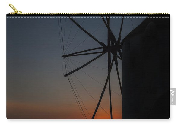 Greek Windmill Carry-all Pouch