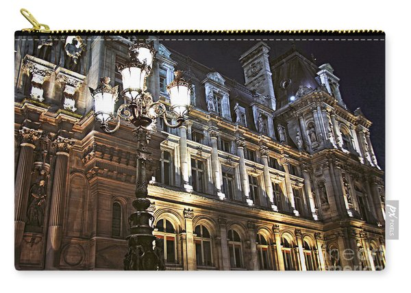 Hotel De Ville In Paris Carry-all Pouch
