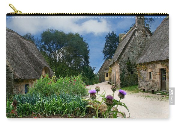 Medieval Village Carry-all Pouch