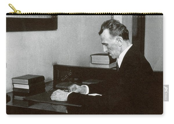Nikola Tesla, Serbian-american Inventor Carry-all Pouch
