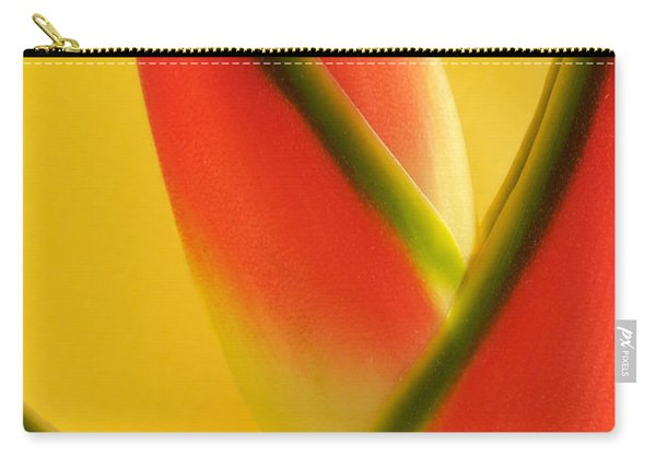 Photograph Of A Lobster Claws Heliconia Carry-all Pouch
