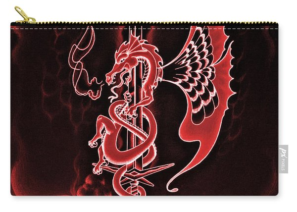 Red Dragon Sword II Carry-all Pouch