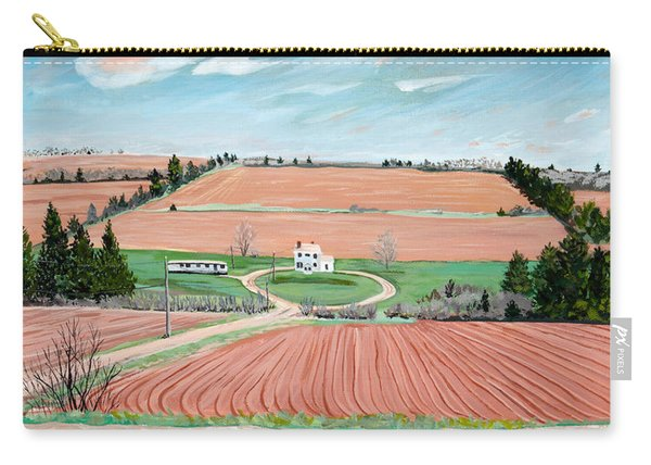 Red Soil On Prince Edward Island Carry-all Pouch