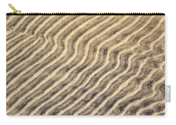 Sand Ripples In Shallow Water Carry-all Pouch