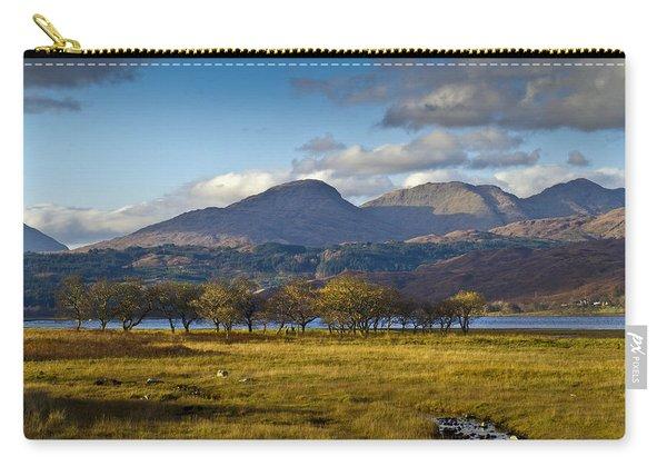 Scottish Landscape View Carry-all Pouch