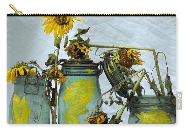 Sunflowers .helianthus Annuus Carry-all Pouch