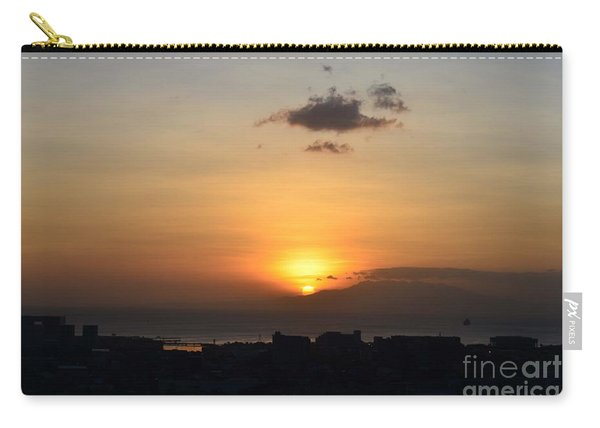 Sunset Upon The Ocean  Carry-all Pouch