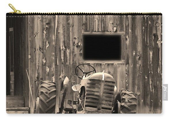 Tractor And The Barn Carry-all Pouch