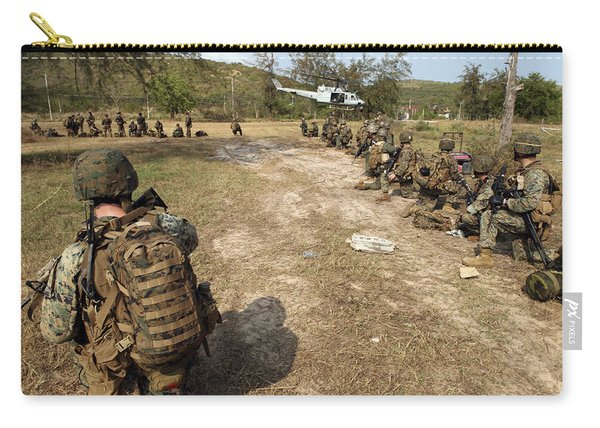 U.s. Marines Provide Security Carry-all Pouch