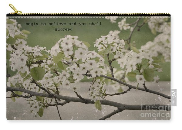 Vintage Spring Carry-all Pouch