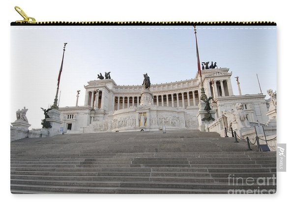 Vittoriano Monument To Victor Emmanuel II. Rome Carry-all Pouch