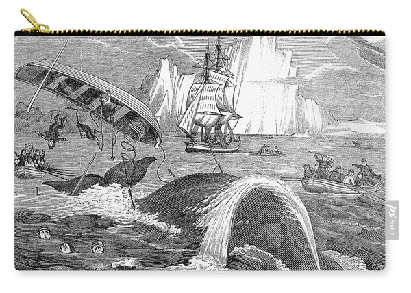 Whaling, 1833 Carry-all Pouch