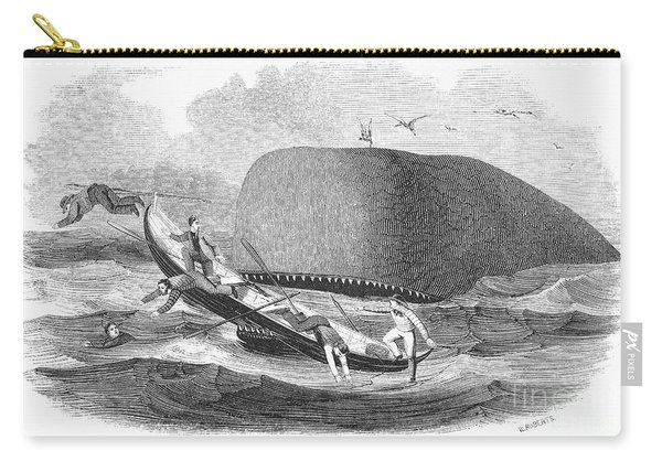 Whaling, 1850 Carry-all Pouch