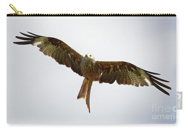Red Kite In Flight Carry-all Pouch
