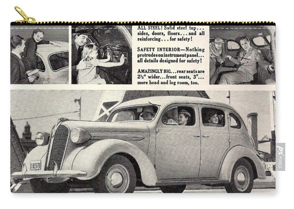 1937 Plymouth  Carry-all Pouch