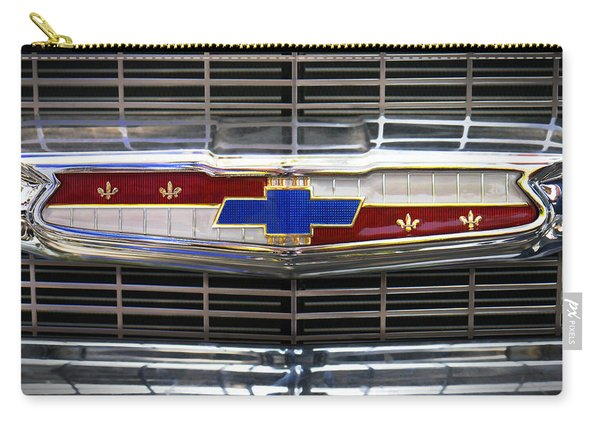 1956 Chevrolet Grill Emblem Carry-all Pouch