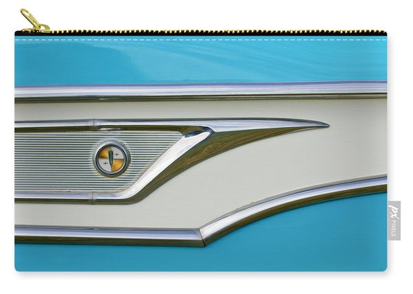 1959 Edsel Corvair Side Emblem Carry-all Pouch