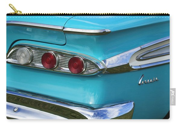 1959 Edsel Corvair Taillights Carry-all Pouch