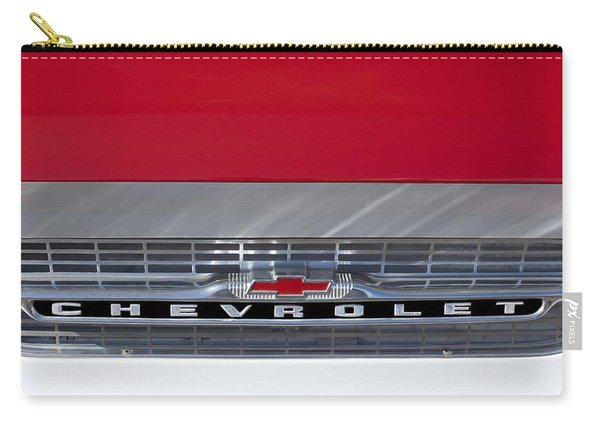 1961 Chevrolet Corvair Pickup Truck Grille Emblem Carry-all Pouch