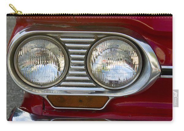 1964 Corvair Monza Red Antique Car Carry-all Pouch