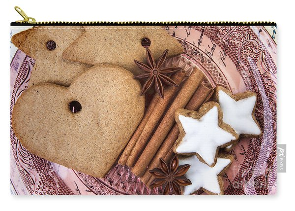 Christmas Gingerbread Carry-all Pouch