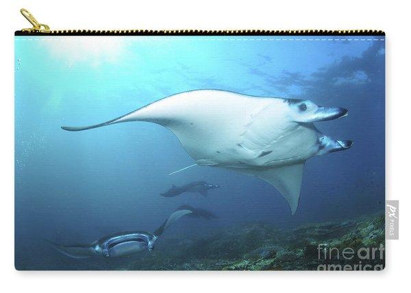 Manta Rays, Komodo, Indonesia Carry-all Pouch